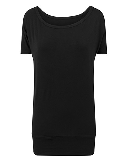 BY040 Build Your Brand Ladies Viscose Tee