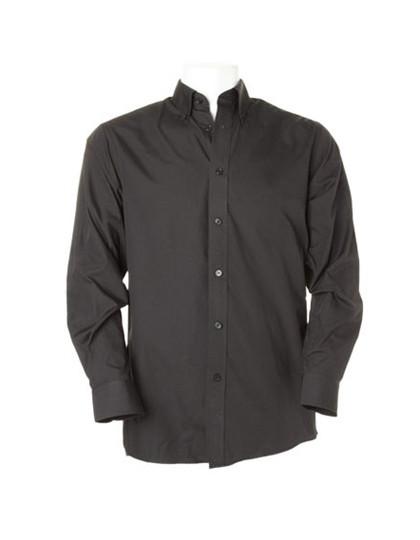 K140 Kustom Kit Workforce Shirt Poplin Long Sleeved