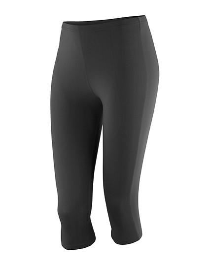 RT284F SPIRO Womens Impact Softex® Capri Pants