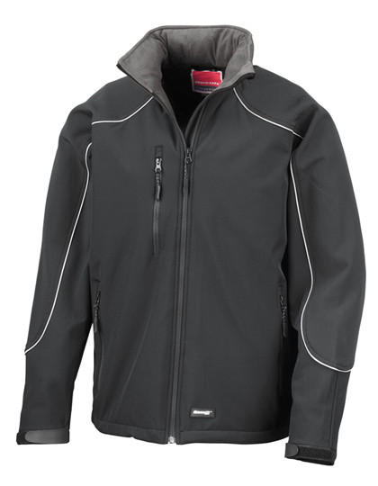 RT118 Result WORK-GUARD Ice Fell Hooded Soft Shell Jacket