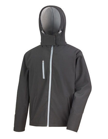 RT230M Result Core Mens Core Lite Hooded Soft Shell Jacket