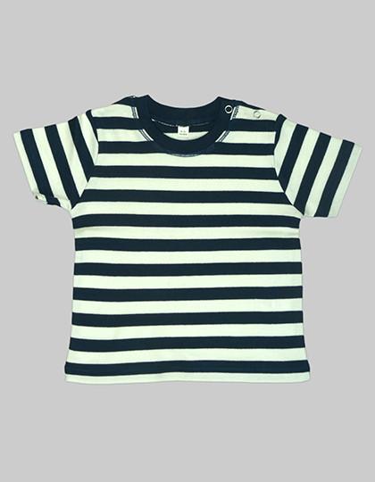 BZ02S Babybugz Baby Stripy T