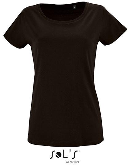 L02077 SOL´S Womens Short Sleeved T-Shirt Milo