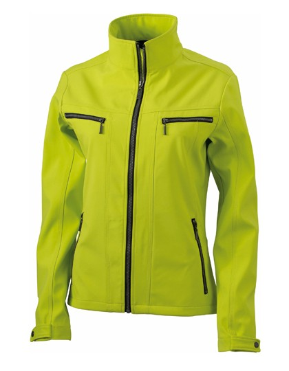 JN1057 James+Nicholson Ladies´ Tailored Softshell