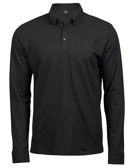 TJ1412 Tee Jays Fashion Long Sleeve Luxury Stretch Polo
