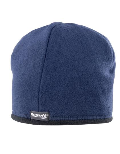 RT142 Result Winter Essentials Reversible Microfleece Bob Hat