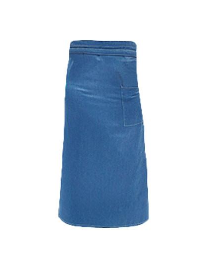 KY098 Karlowsky Bistroschürze Jeans 1892 Georgia