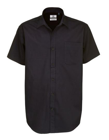 BCSMT82 B&C Twill Shirt Sharp Short Sleeve / Men