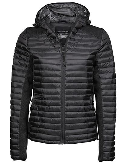 TJ9611 Tee Jays Ladies Hooded Aspen Crossover Jacket