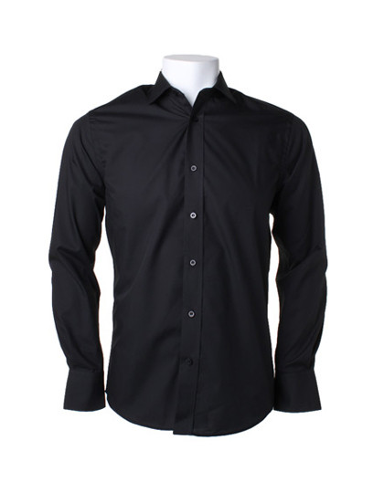 K131 Kustom Kit Business Tailored Fit Poplin Shirt