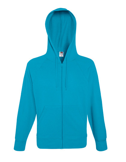 Fruit of the Loom Lightweight Hooded Sweat Jacket