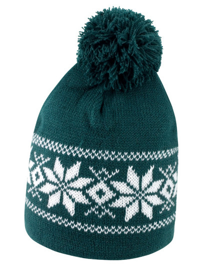 RC151 Result Winter Essentials Fair Isle Knitted Hat