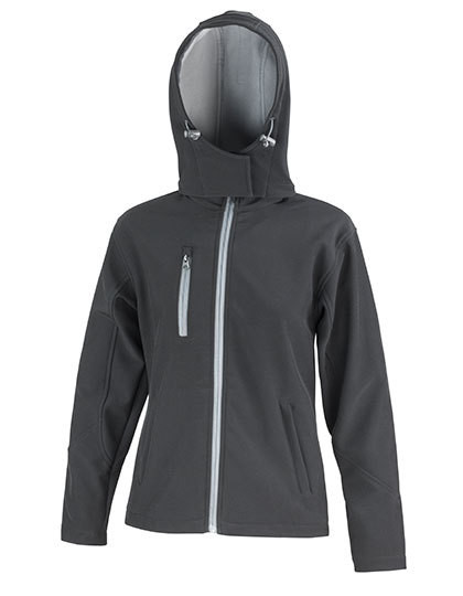 RT230F Result Core Ladies Core Lite Hooded Soft Shell Jacket
