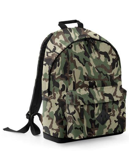 BG175 BagBase Camo Backpack