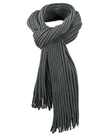 MB7989 myrtle beach Ribbed Scarf