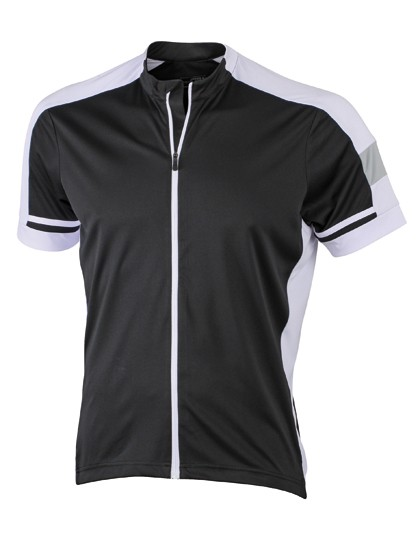 JN454 James+Nicholson Men´s Bike-T Full Zip