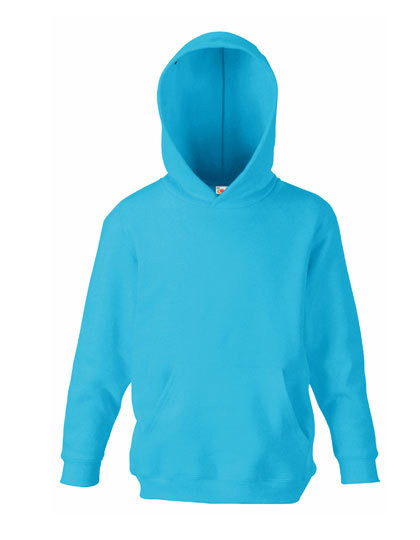 F421NK Fruit of the Loom Kids Classic Hooded Sweat