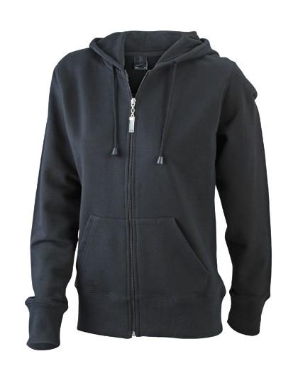 JN053 James+Nicholson Ladies´ Hooded Jacket