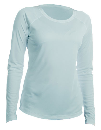 VA750 Vapor Apparel Ladies Solar Performance Long Sleeve T-Shirt