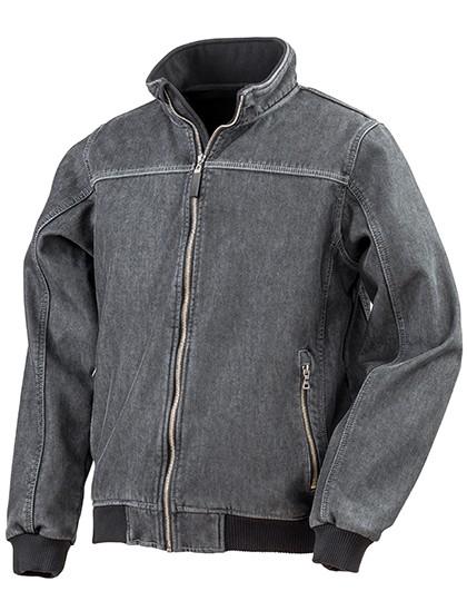 RT406 Result Denim Softshell Jacket
