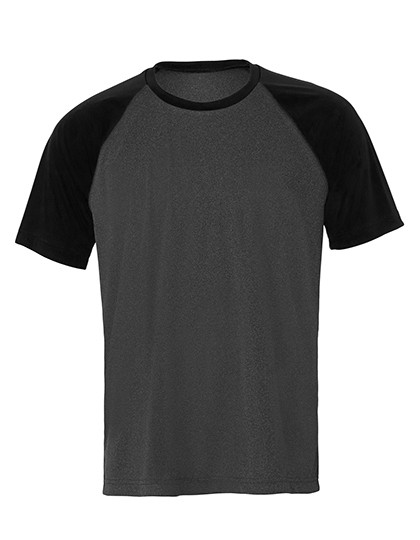 ALM1029 All Sport Unisex Performance Short Sleeve Raglan Tee