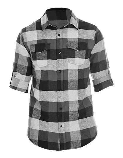 BU8210 Burnside Woven Plaid Flannel Shirt
