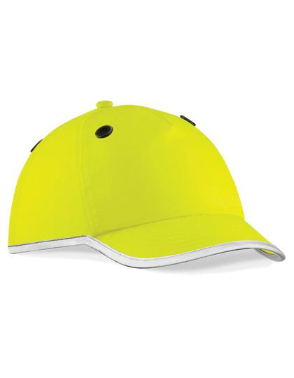 CB535 Beechfield Enhanced-Viz EN812 Bump Cap