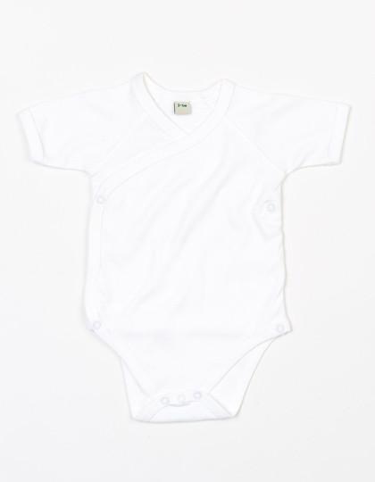 BZ05T Babybugz Baby Organic Kimono Bodysuit