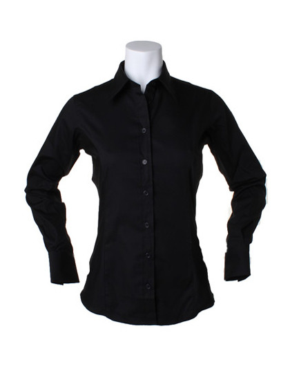 K702 Kustom Kit Women´s Corporate Oxford Shirt Long Sleeve