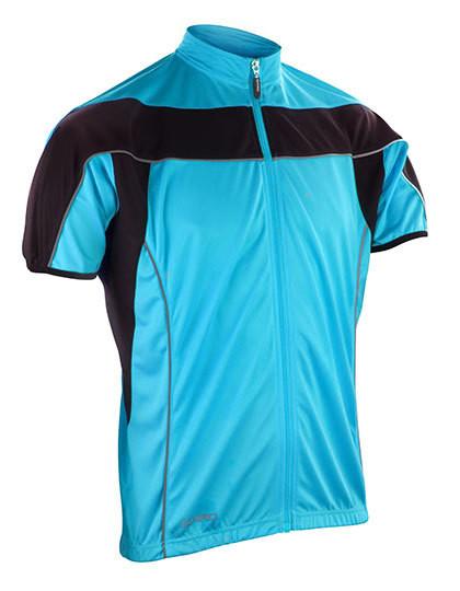 RT188M SPIRO Mens Bikewear Full Zip Performance Top