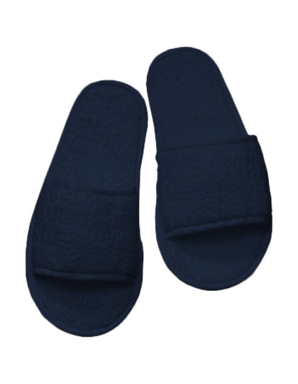TC64 Towel City Classic Terry Slippers - Open Toe