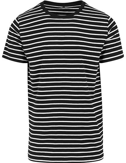 BY073 Build Your Brand Stripe Tee