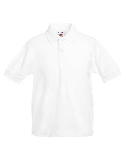 Fruit of the Loom Kids 65/35 Piqué Polo