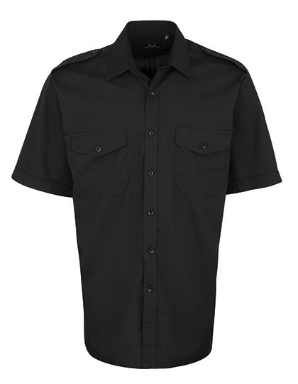 PW212 Premier Workwear Pilot Shirt Shortsleeve