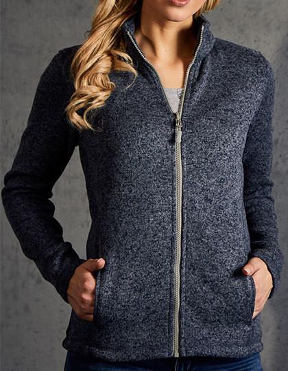 E7725 Promodoro Womens Knit Fleece Jacket C+