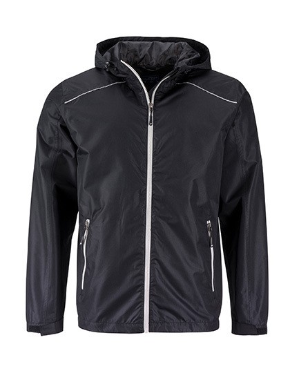JN1118 James+Nicholson Mens` Rain Jacket
