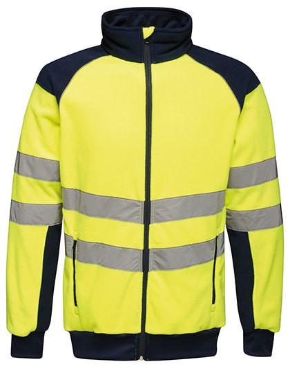 RG525 Regatta Hi-Vis Pro Fleece Jacket