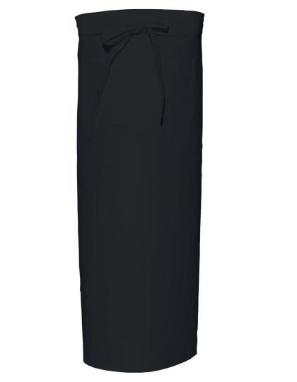 X961T Link Kitchenwear Bistroschürze Extra-breit mit Fronttasche