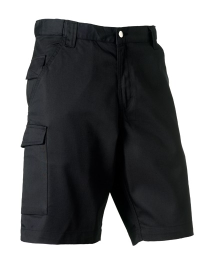 Z002 Russell Workwear-Shorts aus Polyester-/Baumwoll-Twill