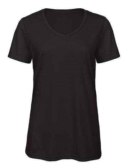 BCTW058 B&C V-Neck Triblend T-Shirt /Women