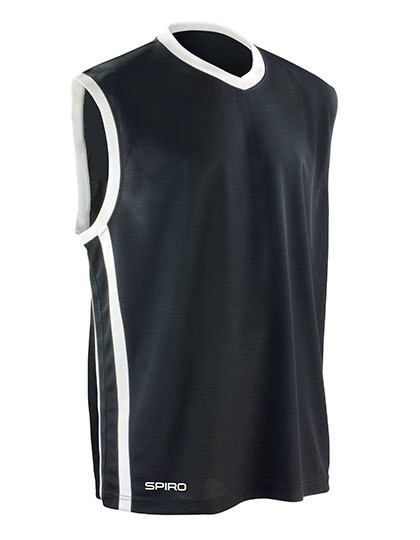 RT278 SPIRO Basketball Mens Quick Dry Top