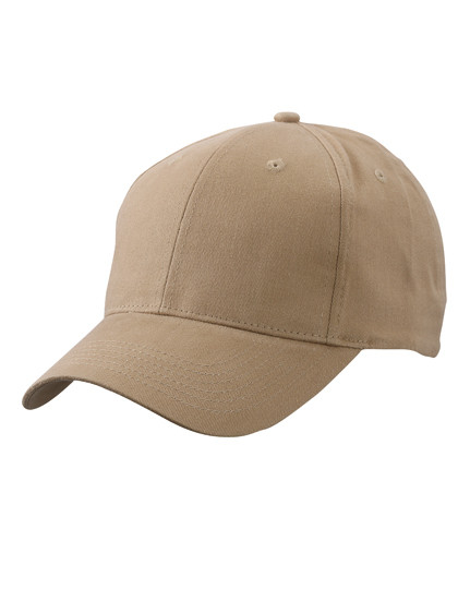 MB6118 myrtle beach Brushed 6-Panel Cap