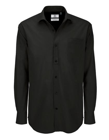 BCSMP41 B&C Poplin Shirt Heritage Long Sleeve / Men
