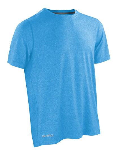 RT271 SPIRO Fitness Mens Shiny Marl T-Shirt