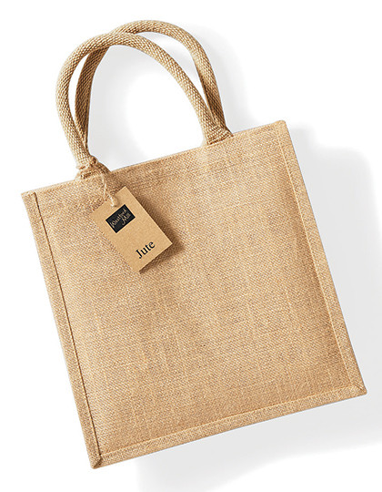 WM413 Westford Mill Jute Midi Shopper