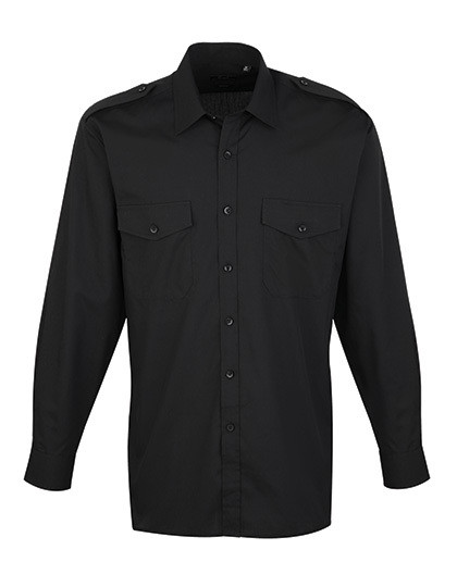PW210 Premier Workwear Pilot Shirt Longsleeve