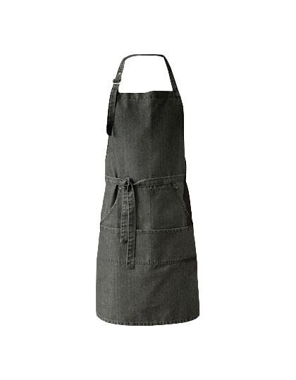PW126 Premier Workwear Jeans Stitch Denim Bib Apron