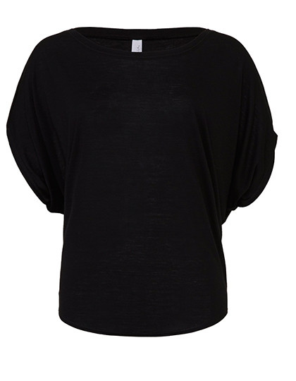 BL8821 Bella Flowy Draped Sleeve Dolman T-Shirt