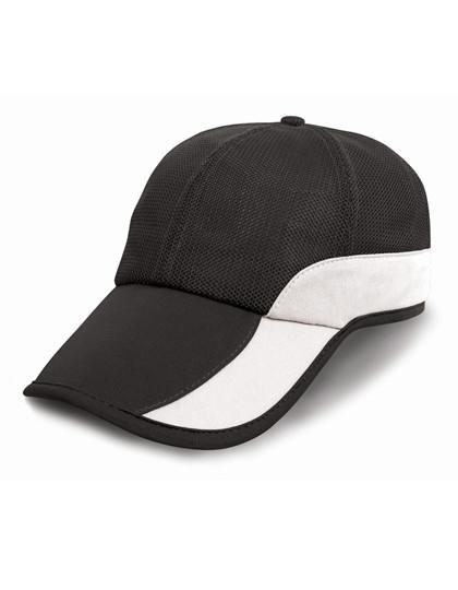 RH57 Result Headwear Addi Mesh Cap Under-Peak Pocket