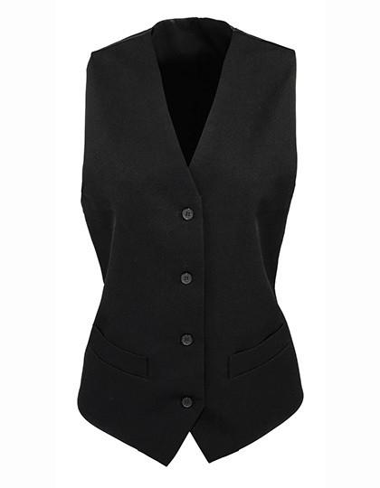 PW623 Premier Workwear Ladies Lined Polyester Waistcoat